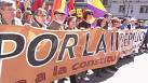 Marchers call for new Spanish republic