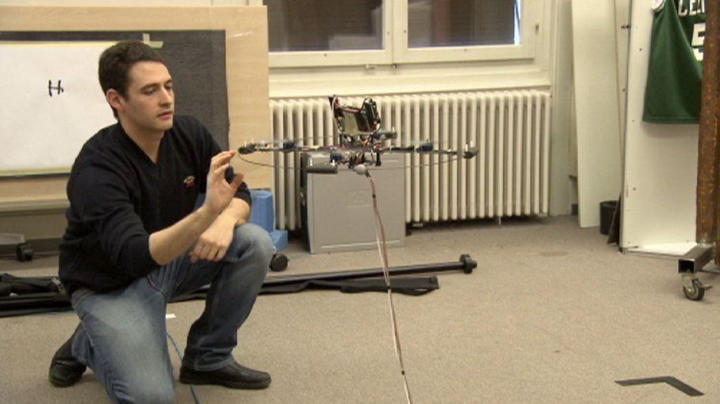 Uçan robotlar insanlığın hizmetinde