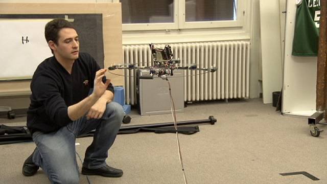 Des robots volants destinés à l'industrie