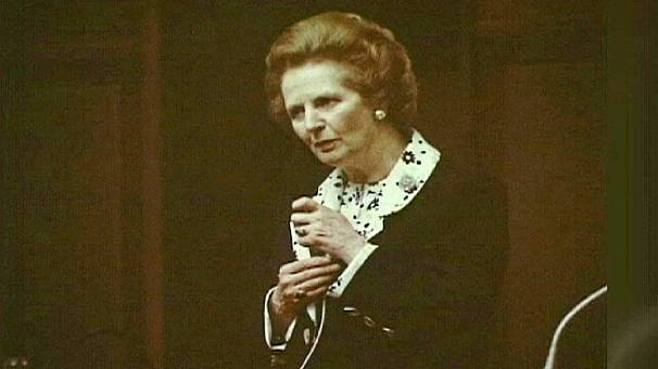 Ukraine fondly recalls Thatcher's visit