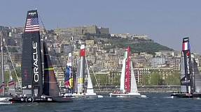 sport: America's Cup World Series: Day two in Naples
