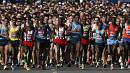 London Marathon runners honour Boston victims