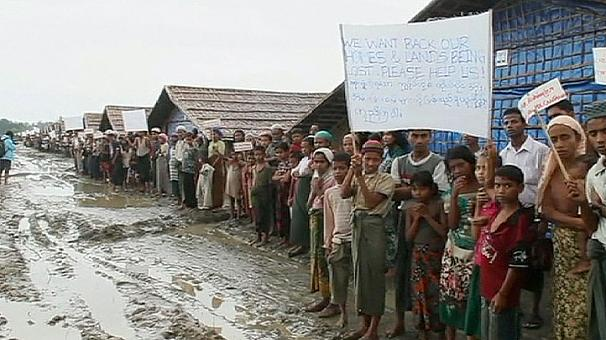 Rights group blames Myanmar authorities for Muslim killings