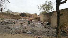Carnage in Nigeria as troops and Boko Haram clash