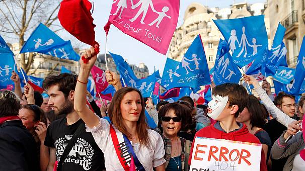 France set to legalise gay marriage in parliament vote