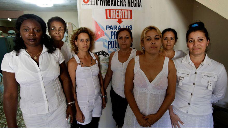 Las Damas de Blanco recogen el Premio Sájarov 2005