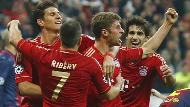 Bayern Munich on the brink of Champions League final