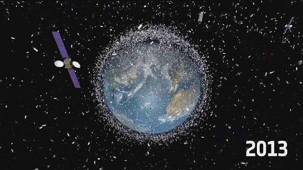 Space debris problem piles up