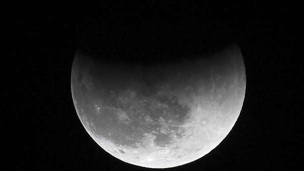 Yesterday's partial lunar eclipse
