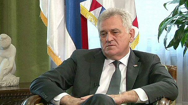 Serbian President kneels for forgiveness over Srebrenica massacre