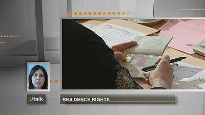 Direito de residência para familiares de fora da UE