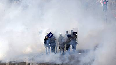 Clashes mar International Workers' Day in Turkey
