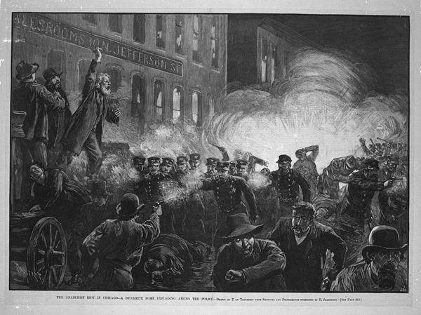 8f7d06e27 Foram os factos históricos que transformaram o 1 de maio no Dia do  Trabalhador. Até 1886, os trabalhadores jamais pensaram exigir os seus  direitos, ...