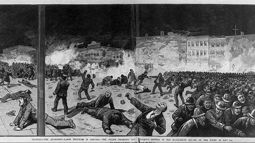 The dark origins of May Day