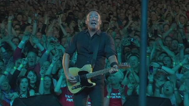 Springsteen and E Street Band on the road in Europe