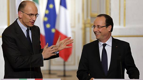 Letta's call for growth over austerity warmly welcomed in Paris