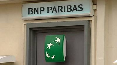BNP Paribas profit falls