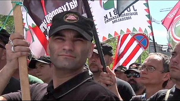 Jobbik leads anti-Jewish rally in Budapest on eve of World Jewish Congress