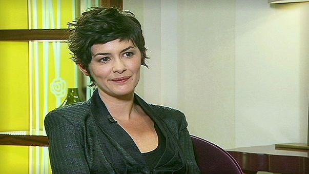 La nueva maestra de ceremonias de Cannes, Audrey Tautou, cuenta sus próximos proyectos