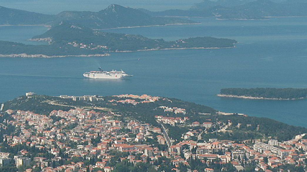 Um polémico campo de golfe com vista sobre Dubrovnik