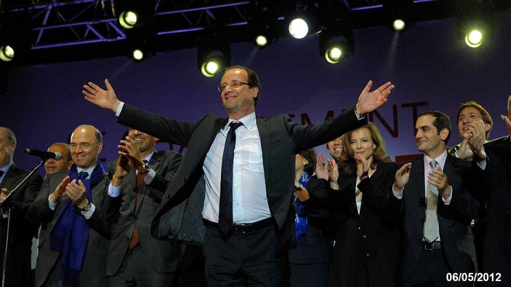 Hollande: balance de un año en el poder