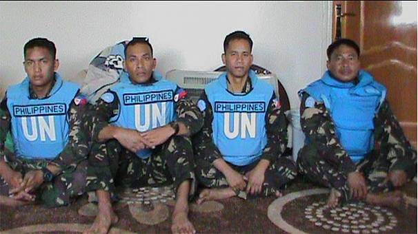 More Filipino UN peacekeepers 'held by Syrian rebels'