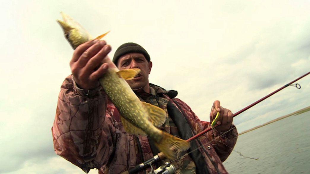Pescar no delta do maior rio da Europa