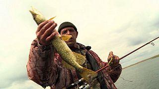 Pescando en el Volga