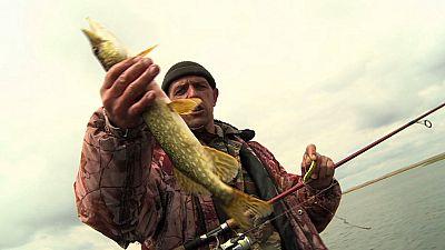 Astrakhan, pescare sul Volga
