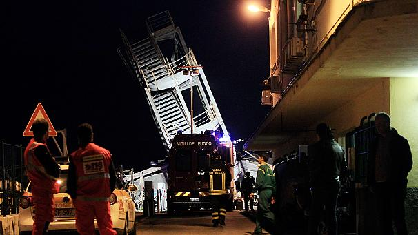 Three dead after cargo ship hits control tower in Genoa