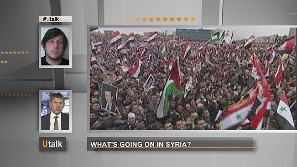 """""""Hat Syrien die rote Linie überschritten?"""""""