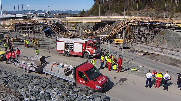 Norwegia: co najmniej jedna ofiara śmiertelna zawalenia się mostu