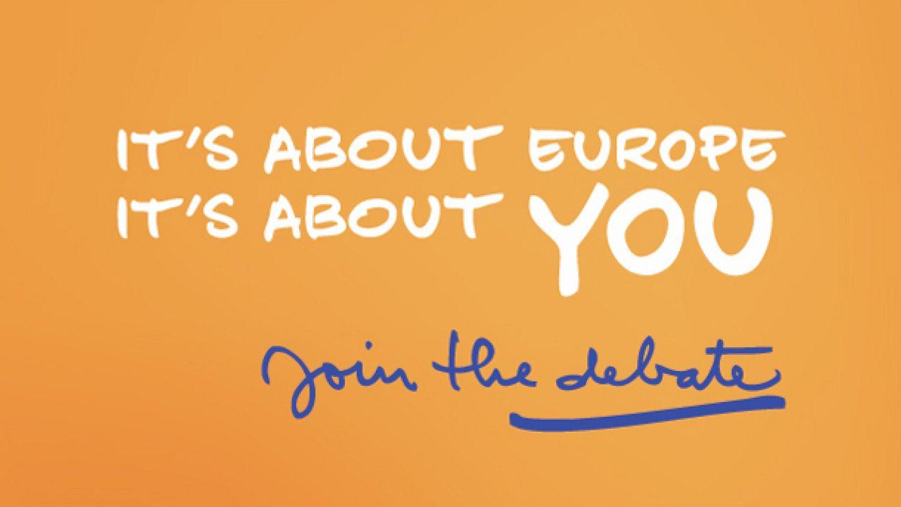 Будь европейцем! Подумай, что ты сделал, чтобы мир стал лучше?