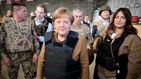 German chancellor in surprise visit to Afghanistan