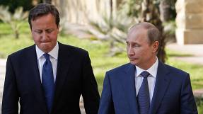 UK and Russia put their differences aside on Syria
