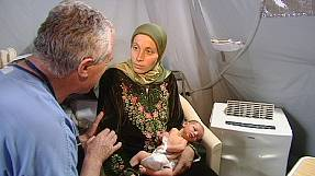 French medics offer vital pre-natal care for Syrian refugees