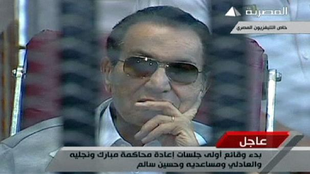 Mubarak back in court for retrial