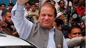 Pakistan: Nawaz Sharif starts talks to form new government