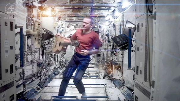 ISS musical farewell