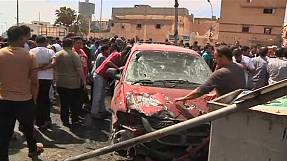 Car bomb explodes outside Benghazi hospital in Libya