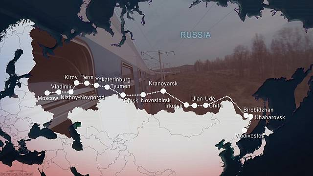 روسيا: السفر عبر سكة الحديد العابرة لسيبيريا