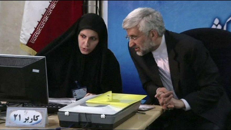 Campanha eleitoral no Irão