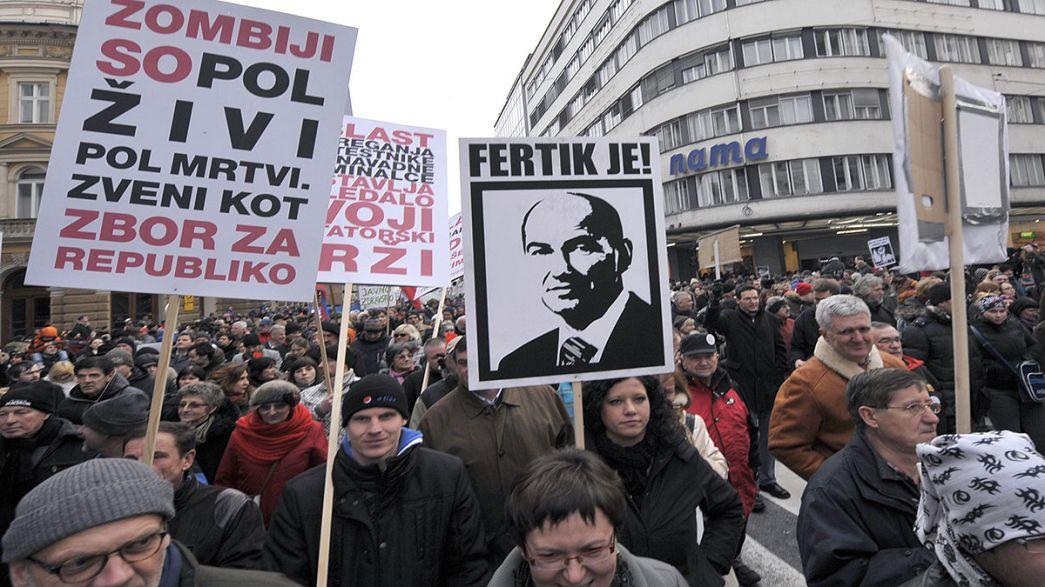 Slowenien: Mit aller Kraft gegen den Rettungsschirm