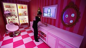 Barbie abre as portas de casa