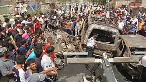 Deadly bombings hit Baghdad