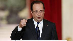 France: Hollande on the