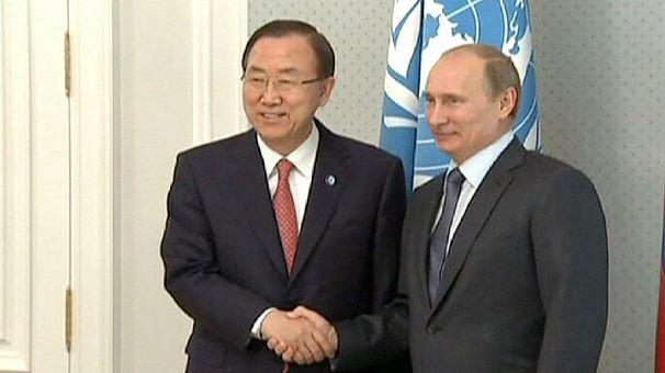 Ban Ki-Moon quer conferência internacional sobre a Síria o quanto antes
