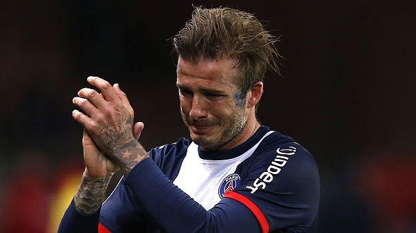 Beckham, addio al calcio tra le lacrime