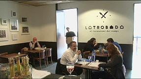 Spain jobless restaurant customers work rather than pay the bill