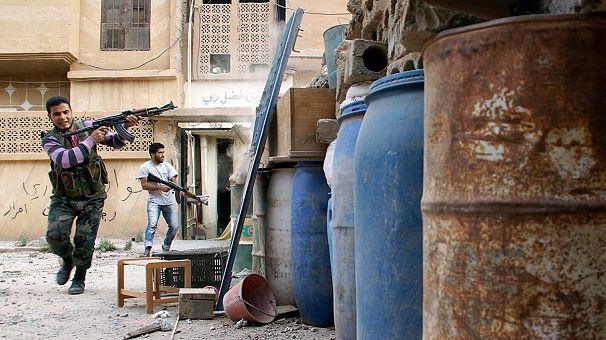 Syrische Regierungstruppen stürmen Al Kusair